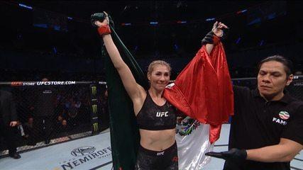 Melhores momentos de Irene Aldana x Vanessa Melo no UFC Cidade do México