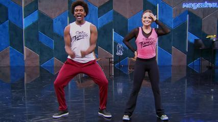 Veja o ensaio de Luiza Tomé com Marcus Lobo no 'Dança dos Famosos' no funk