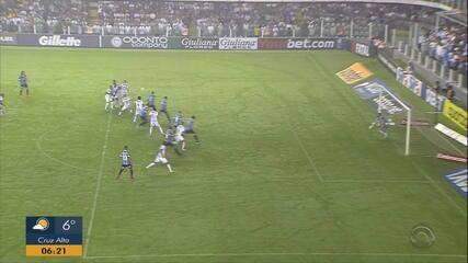 Luan e Everton fizeram dobradinha na Vila Belmiro. Agora, meta é realizar o mesmo na Arena