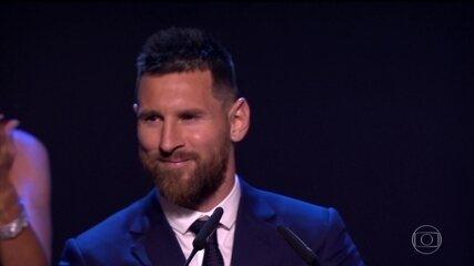 Messi é eleito o melhor jogador do mundo pela sexta vez