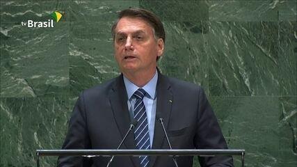Bolsonaro fala sobre soberania e o espírito colonialista de outros países