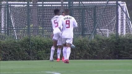 Melhores momentos de São Paulo 3 x 2 América-MG pela 16ª rodada do Campeonato Brasileiro Sub-20