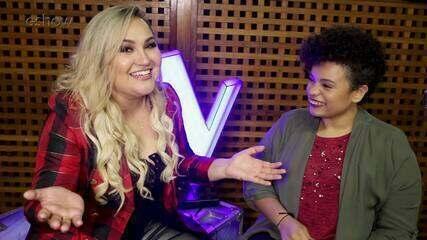 Rebeca Lindsay enfrenta Samara Alves no quiz sobre o The Voice Brasil