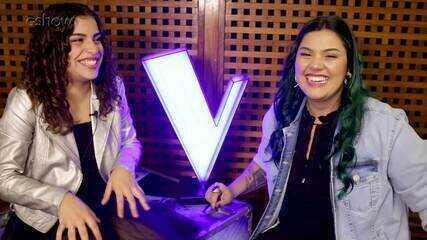 Lucia Muniz e Paula Araujo fazem quiz sobre o 'The Voice Brasil'