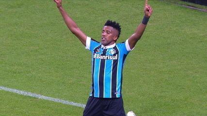 Os gols de Grêmio 6 x 1 Avaí pela 21ª rodada do Campeonato Brasileiro