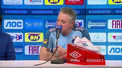 Confira a íntegra da coletiva de Abel Braga, novo técnico do Cruzeiro