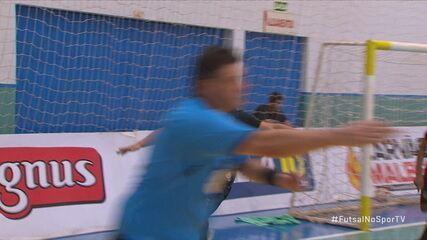 Os gols de Marechal Rondon 3 x 3 Sorocaba pela Liga Nacional de Futsal