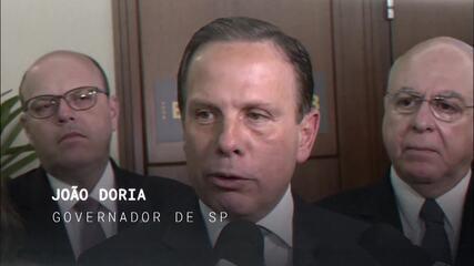 Central GloboNews conversa com João Doria, governador de São Paulo