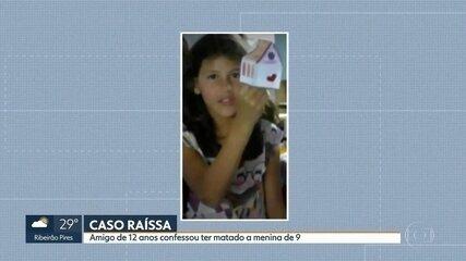 Menino de 12 anos confessa ter matado Raíssa