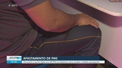 De janeiro a julho, 60 PMs do Amapá se afastaram para receber cuidado psicossocial