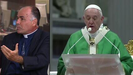 Papa diz que Amazônia precisa do fogo do amor de Deus