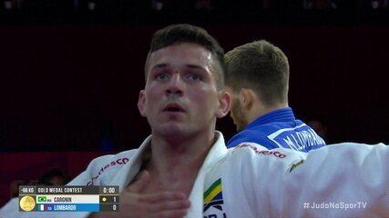 Daniel Cargnin bate italiano Manuel Lombardo e é campeão dos meio-leves do Grand Slam de Brasília de judô