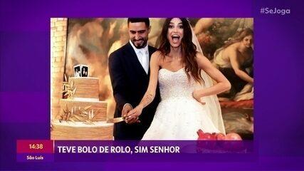 Confira imagens do casamento de Renato Góes e Thaila Ayala