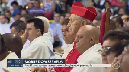 Cardeal dom Serafim Fernandes de Araújo morre aos 95 anos em Belo Horizonte