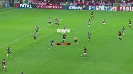Análise tática do posicionamento do Vitinho no time do Flamengo