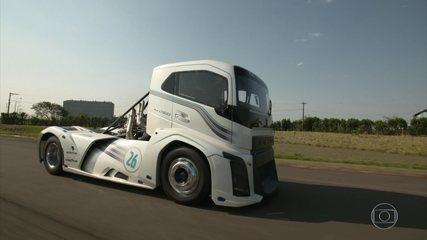 Conheça o caminhão mais rápido do mundo