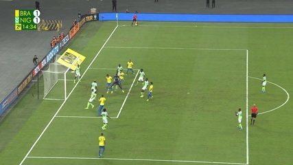 Veja os melhores momentos do empate entre Brasil e Nigéria