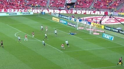 Melhores momentos de Internacional 0 x 0 Santos pela 25ª rodada do Campeonato Brasileiro