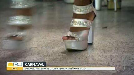 União da Ilha escolhe samba-enredo para carnaval 2020