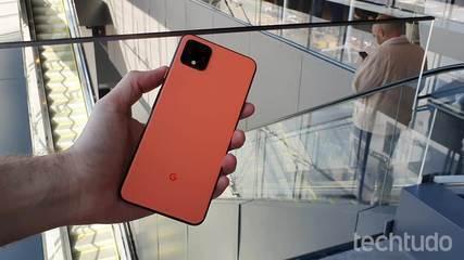 Lançamento do Google Pixel 4 nos EUA: celular tem controle por gestos