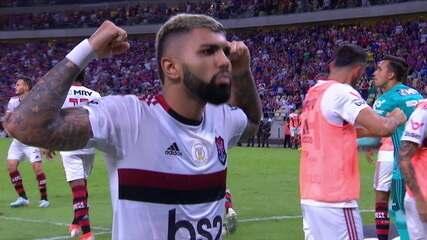 Gol do Flamengo! Gabigol bate pênalti e empata, aos 38 do 2º tempo