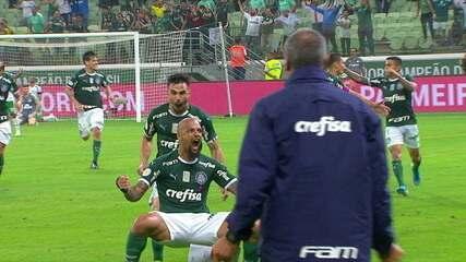 O gol de Palmeiras 1 x 0 Chapecoense pela 26ª rodada do Brasileirão