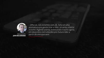 Revistas divulgam áudio que seria do presidente Jair Bolsonaro
