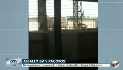 Vídeo mostra ação de criminosos dentro do terminal de cargas