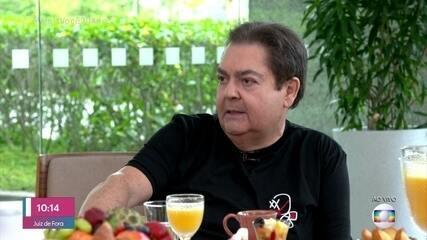 Mais Você inverte atração e Fausto Silva participa do 'Eu Acho'