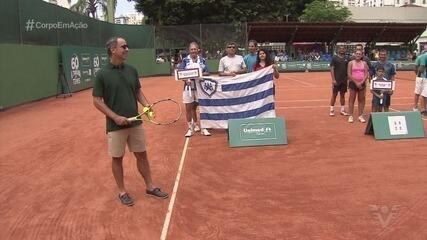 Com quase 500 competidores de diversas idades, 60º A Tribuna de Tênis começa em Santos