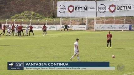 Pouso Alegre FC fica no empate em 0 a 0 com o Betim pela Segundona do Mineiro