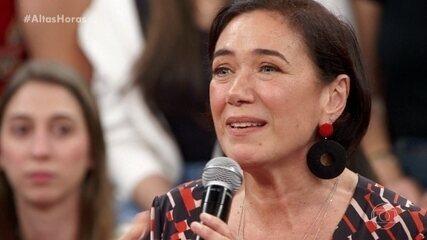 Lilia Cabral se emociona ao falar da filha