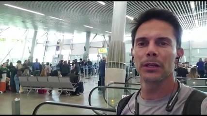 Tenista Gustavo Carneiro relata situação em aeroporto do Chile após disputa de torneio
