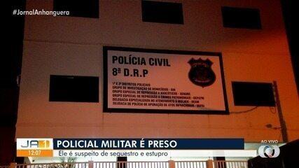 Preso suspeito de estupro, major da PM foi levado para Goiânia