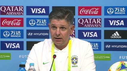 Guilherme Dalla Déa promete futebol envolvente no Mundial Sub-17 e reverencia Tite
