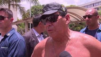 Mourão diz que praias atingidas pelo óleo no Nordeste estão próprias para banho