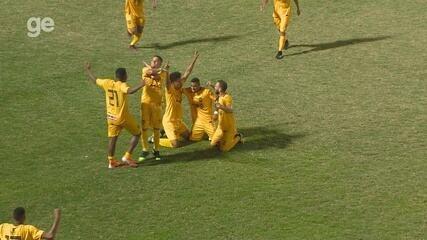 Veja os gols da vitória do Amazonas FC por 3 a 0 sobre o São Raimundo
