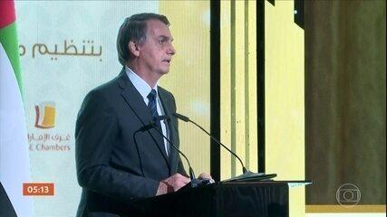 Bolsonaro chega ao Catar