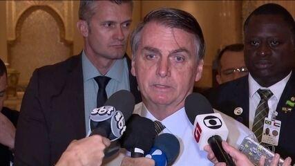 'Não pretendo parabenizá-lo', diz Bolsonaro sobre vitória do peronista Alberto Fernández