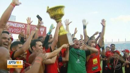Pouso Alegre bate o Betim e conquista o título da Segundona do Mineiro invicto