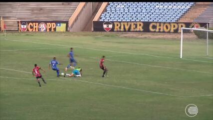 River-PI estreia com vitória na Copa do Nordeste Sub 20