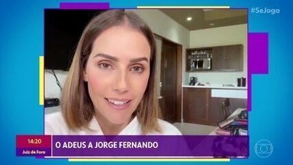 Artistas falam sobre a morte de Jorge Fernando