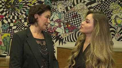 Lilia Cabral fala sobre como é acompanhar a filha dando os primeiros passos como atriz