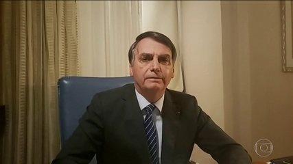 Jair Bolsonaro reage às revelações do Jornal Nacional