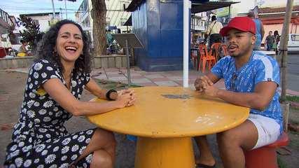 Na Liberdade, Maria Menezes bate um papo divertido com o humorista Cristian Bell