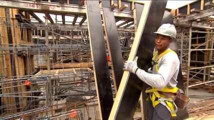 Construção civil começa da dar sinais de recuperação