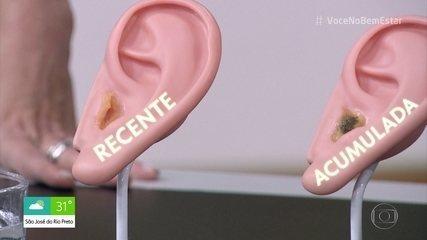 Cera no ouvido não é sujeira