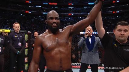 Melhores momentos de Corey Anderson x Johnny Walker no UFC 244