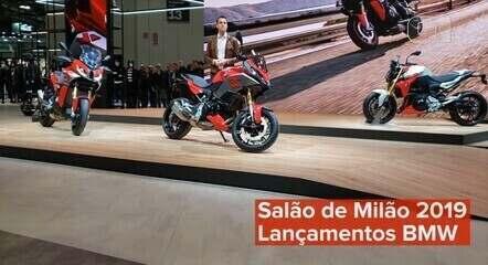 Salão de Milão 2019: BMW lança motos e anuncia 'rival da Harley'