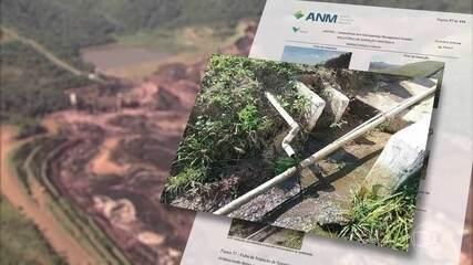 Parecer técnico da ANM aponta que Vale não informou problemas na barragem de Brumadinho